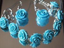 Turquoise Resin Costume Jewellery Sets