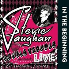 Stevie Ray Vaughan and Double Trouble - In The Beginning 200G LP REISSUE RM NEW