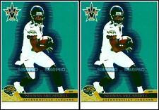 2x PACIFIC VANGUARD 2001 KEENAN McCARDELL NFL JACKSONVILLE JAGUARS #42 CARD LOT