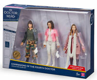 Dr Who Companions Of The Fourth Doctor Action Figure Set 4th Romana Sarah Jane
