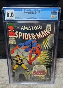 Amazing Spider-Man #46 CGC 8.0 1st Appearance of the Shocker Marvel White Pages