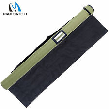 Green Cordura Rod Tube Fly Rod Tube Case for 9FT 4Sec Fly Fishing with Rod Sock