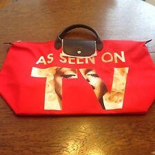 "2017 Pre-Release Longchamp x Jeremy Scott Le Pliage Tote Bag ""As Seen on TV"""