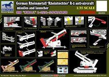 Bronco 1/35 35050 German Rheinmetall Rheintochter R2 Missiles w/Launcher