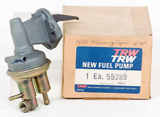 1975 Mercury Capri 4 cyl TRW Fuel Pump P/N 55289 Gr. 6661 NOS