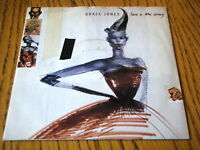 "GRACE JONES - LOVE IS THE DRUG  7"" VINYL PS"