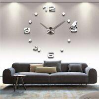 Wanduhr Wohnzimmer Wandtattoo Design Vogel Deko XXL 3D