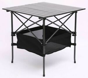Aluminium & Steel Folding Portable Picnic Outdoor Camping Table BBQ Party