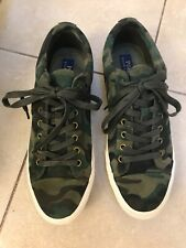 Polo Ralph Lauren Camo Suede Leather Sneaker Shoes NIB Low Top Polo