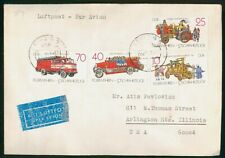 Mayfairstamps Germany Leipzig to Arlington Heights Illinois Cover wwp18101
