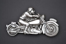 Vintage Motorbike Brough Superior and Lawrence of Arabia  - Wall Sculptures
