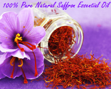15ml Saffron Essential Oil 100 % Pure and Natural , - Free Shipping