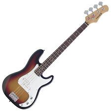 Chase Precision Electric Bass Guitar P300SB P-Style Sunburst Chrome Hardware c