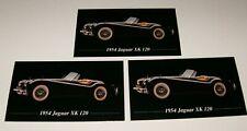 ★★3-1954 JAGUAR XK 120 PHOTO MAGNETS 54 50 52 51 53 XK120 3.4★★
