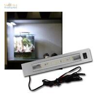 LED Einbauleuchte mit Schalter 24V DC SMD LEDs, Schrankebeleuchtung Möbelleuchte