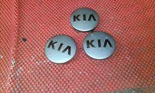 KIA CREED?  X3 factory alloy wheel  hub centre caps genuine KIA part