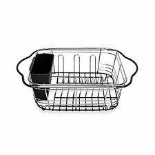 Power Brand Over Sink Dish Drying Rack Expandable Dish Drainer For Kitchen Si.