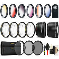 58mm Complete Accessory Kit for Canon Rebel T6i T7i