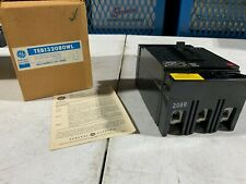 One (1) Genuine Ge Teb132080Wl Circuit Breaker 80A 240V 3-Pole, Nos