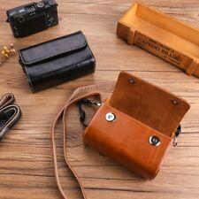 PU Leather Camera Bag Case For Sony RX100 M4 M5 GR GR2 GR3 G7X3 G9X G5X2 G7X2