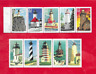 2 Different Lighthouses Booklet Panes of 5 Stamps Each (Scott's 2474a & 2973a)