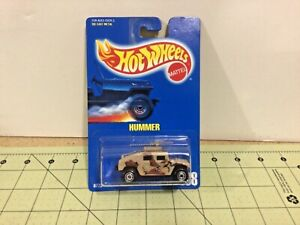 Hot Wheels Camo Hummer, blue card #188 FREE shipping!
