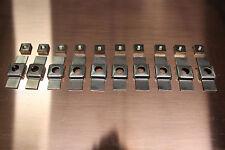 10 - 5/16x24 Cage Nuts (Fit XK 120, 140, 150 Jaguars)