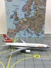 RARE Aeroclassics 1:400 Swissair McDonnell Douglas DC-10 HB-IHD