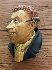 Vintage 1964 Bossons Heads Chalkware Uriah Heep Charles Dickens Series