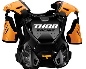 Thor Guardian Roost Deflector Chest Protector - Orange/Black