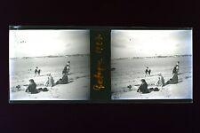 Bretagne France Plaque de verre négative 1927