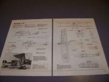 VINTAGE..RUMPLER C IV HISTORY..4-VIEWS/SPECS/DETAILS/STRUCTURE..RARE! (587S)