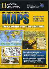 Greenstreet National Geographic Maps Collection - 8 CD Case Pack for PC Windows
