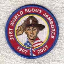 A9303 24th WORLD SCOUT JAMBOREE-USA BSA CONTINGENT PATCH 21st WSJ 2007