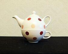 DAVID MASON DESIGN - TEA FOR ONE TEAPOT AND CUP SET