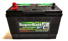 12V 130AH (110AH) SuperBatt CP130 Starting & Auxiliary Leisure & Marine Battery