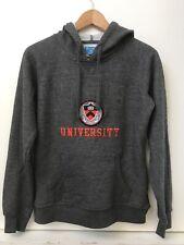 Champion Princeton University Womens Juniors Hoodie Sweatshirt Gray Pullover M