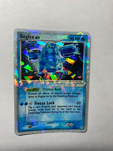 REGICE EX 97/101 - LP - Holo Ultra Rare Hidden Legends - Pokemon Card
