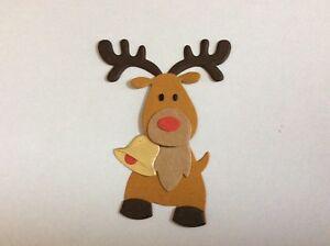Reindeer die cuts for card toppers