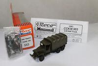 ro1106, RocoMinitanks 553 GMC CCKW 6x6 2,5t Truck BOX mint 1/87 HO