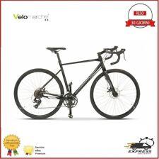 Bici Da Corsa Gravel Cicloturismo Shimano Alluminio Disco Meccanico Mis 54