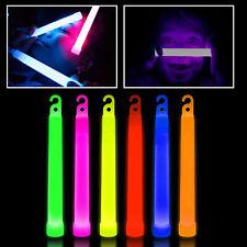 Glow Sticks Premium Quality 6 Inch Long Neon Colors  Party Favor Disco Rave