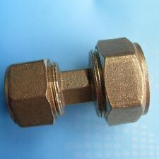 "Pex-Al-Pex Brass Fitting Tubing Tube 1"" To 3/4"" Compression Reducer    J21"