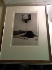 "Limited Edition Peter Moon Photograph ""motel"" 1981 6/8 Signed Black And White Fr"