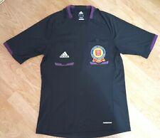 Adidas Referee T Shirt Tee Top Essex County Football Association Black Size M