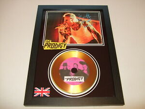 THE PRODIGY  SIGNED  GOLD CD  DISC  6