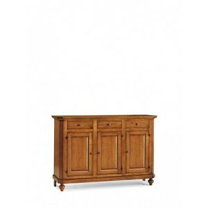 Cupboard With 3 Doors And 3 Drawers, Walnut (506)