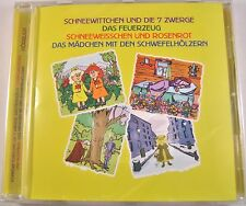 German Language Fairytale's Schneewittchen Audio Book Schneeweisschen CD NEW