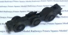 Hornby X548/3 USED 0-6-0 Chassis Block Black Rimmed Wheel Axle Worm Wheel Brass