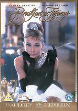 Breakfast At Tiffany (DVD) Audrey Hepburn George Peppard NEW SEALED